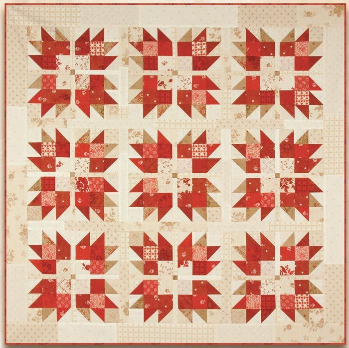 Jersey Girl Quilt- Moda Free Pattern Minick and Simpson | Quilting ...