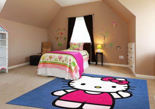 Hello Kitty Rugs For Bedrooms #ModernBedroom #ModernInterior  #MinimalistInterior #MinimalistBedroom