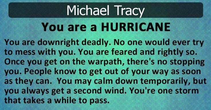 Check my results of What Kind of Storm Are You? Facebook Fun App by clicking Visit Site button
