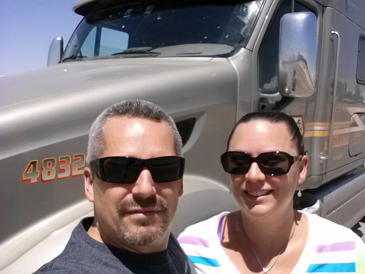 Commercial Truck Driver Driving academy, Truck driver