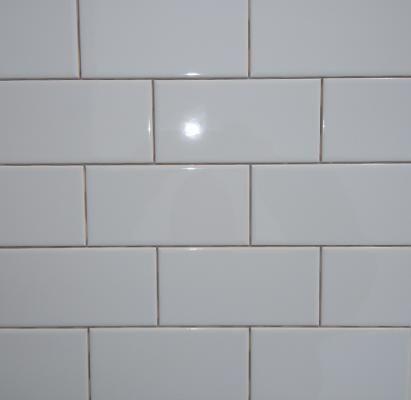3x 6Subway TileWhite Ice GlossyUnited States Ceramic TileON