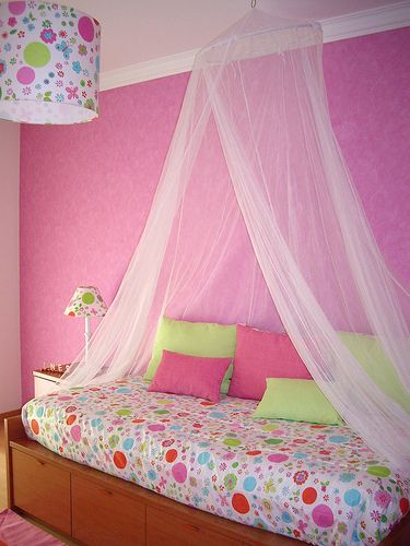 Cama de princesa dormitorios de princesas girl room - Cama nina princesa ...