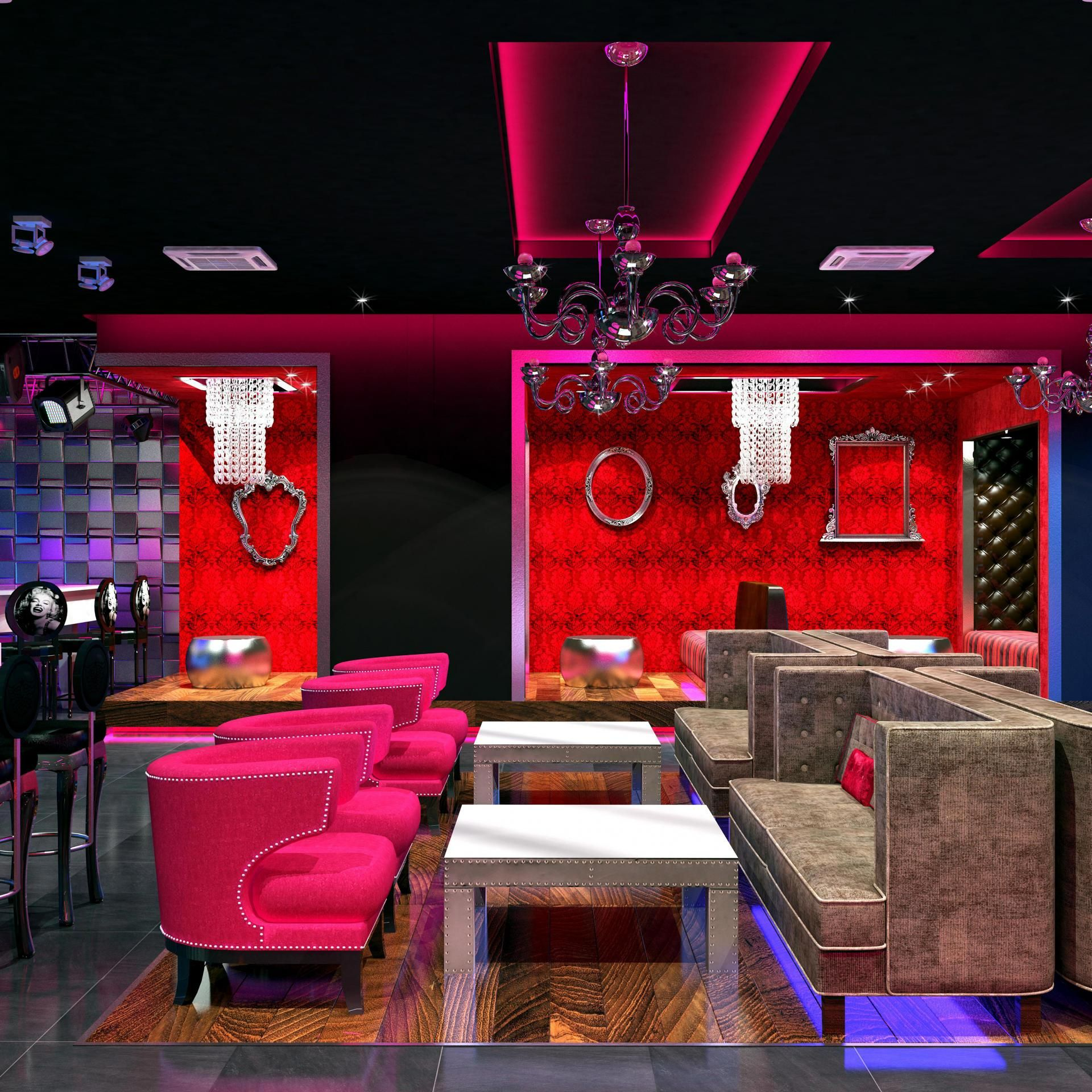 COSMOPOLITAN LUXURY: Blue Martini Bar Interior Fit-out by Extreme Design Studio