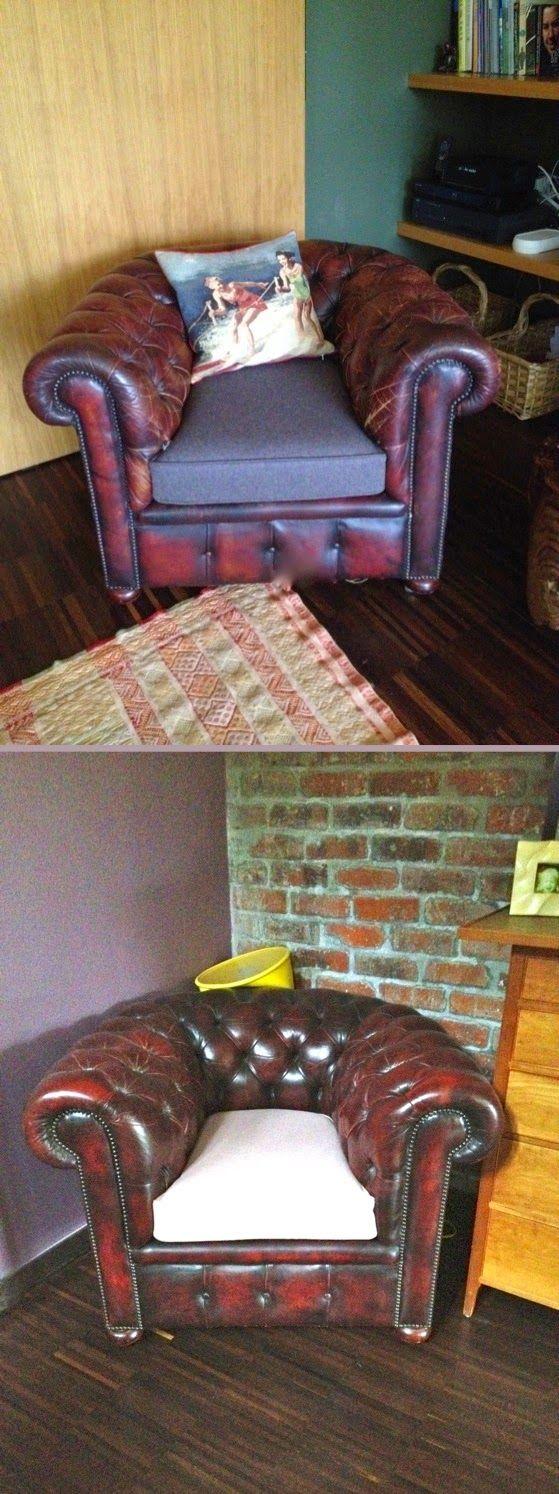 L'atelier de la Marquise : réalisation de coussins d'assise en flanelle