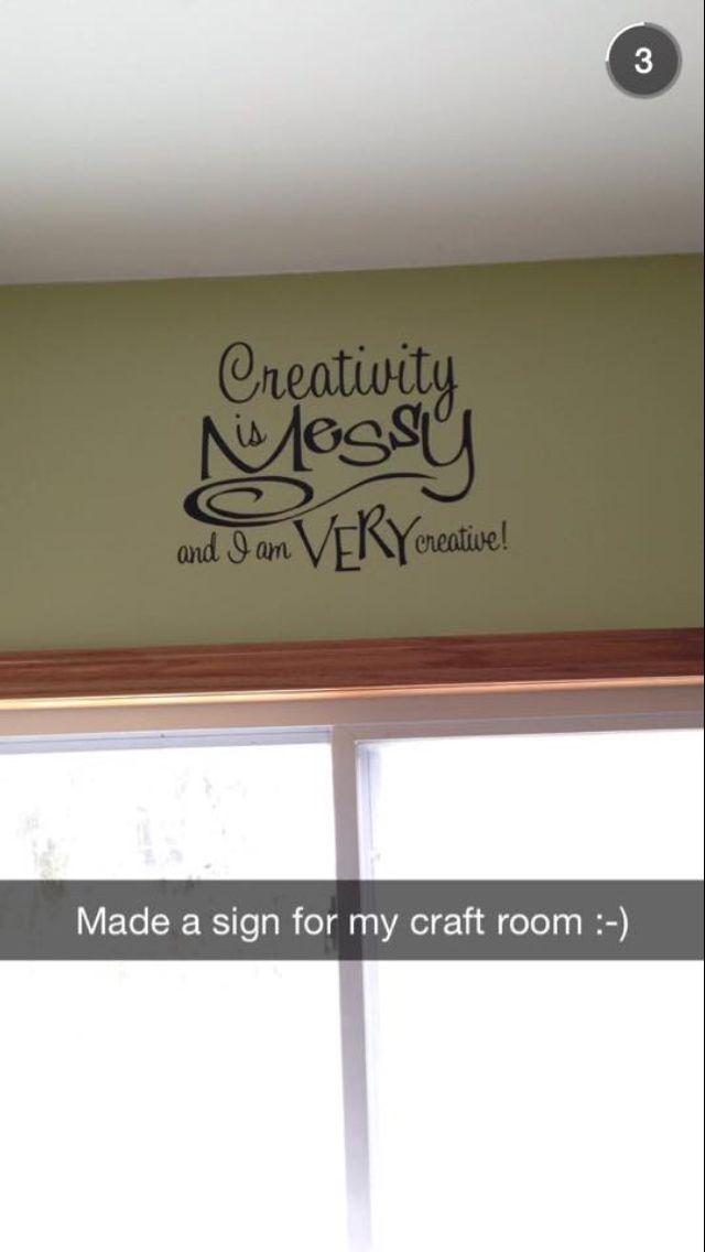 Craft room please!