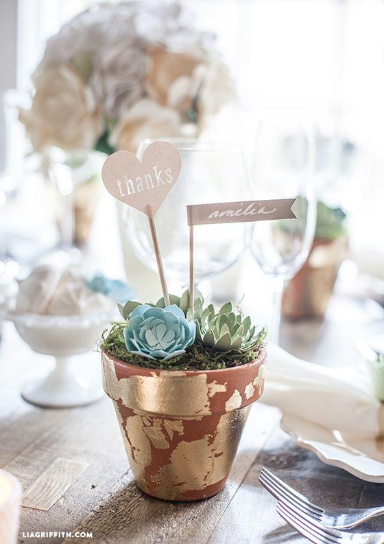 Wedding favor paper heart diy favors and unique