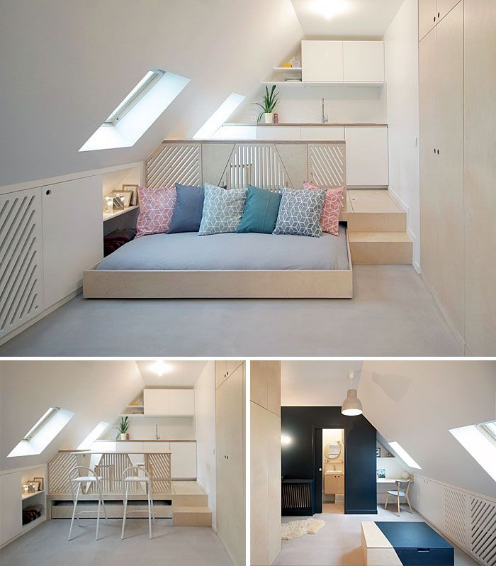 Modern Garage Apartment Designs Ideas 18: 50 Small Studio Apartment Design Ideas (2019)