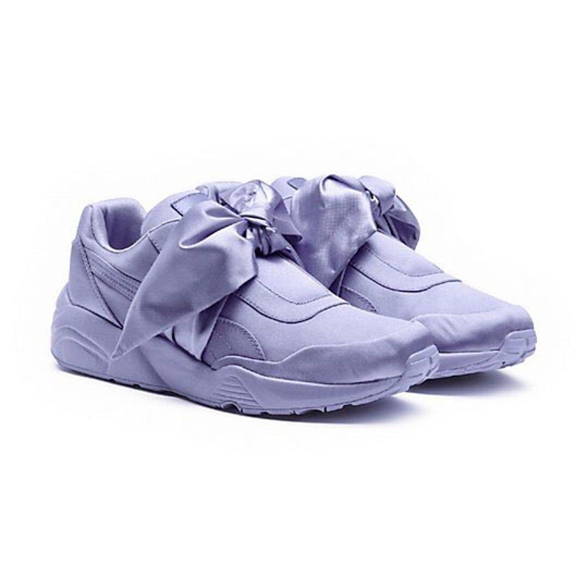FENTY puma Lavender Satin Now Sneaker