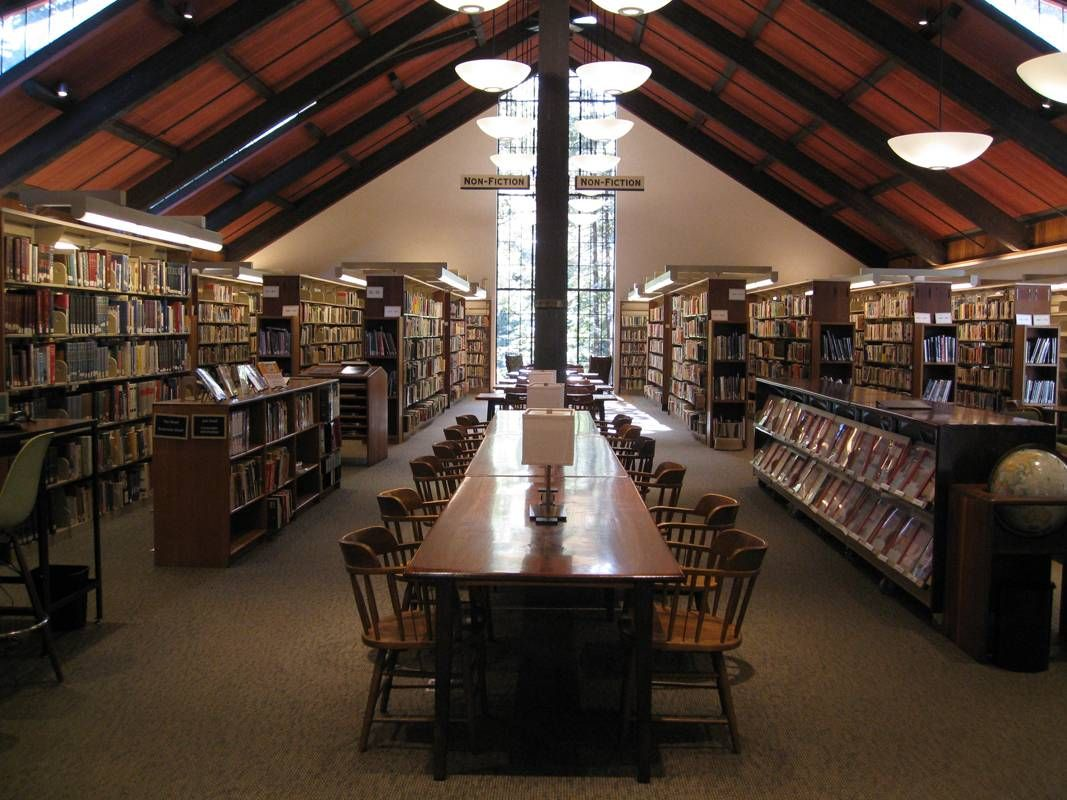 Mill Valley -- the kids and I LOVED this library. We would move in if they'd let us.