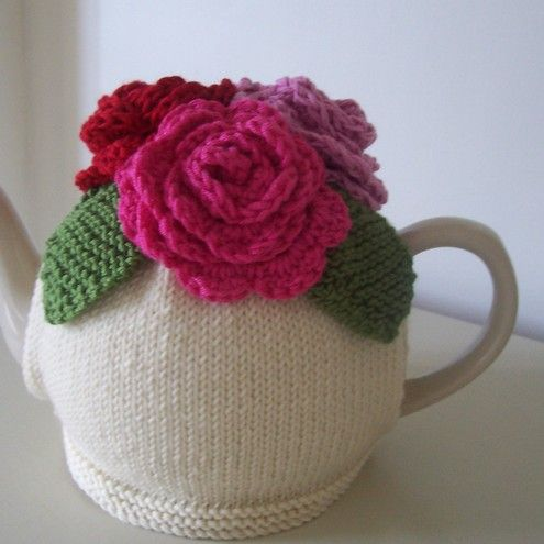 Knitting Pattern For Yoda Tea Cosy : Gold Angel Wing Necklace Summer, Tea cosies and Rose tea