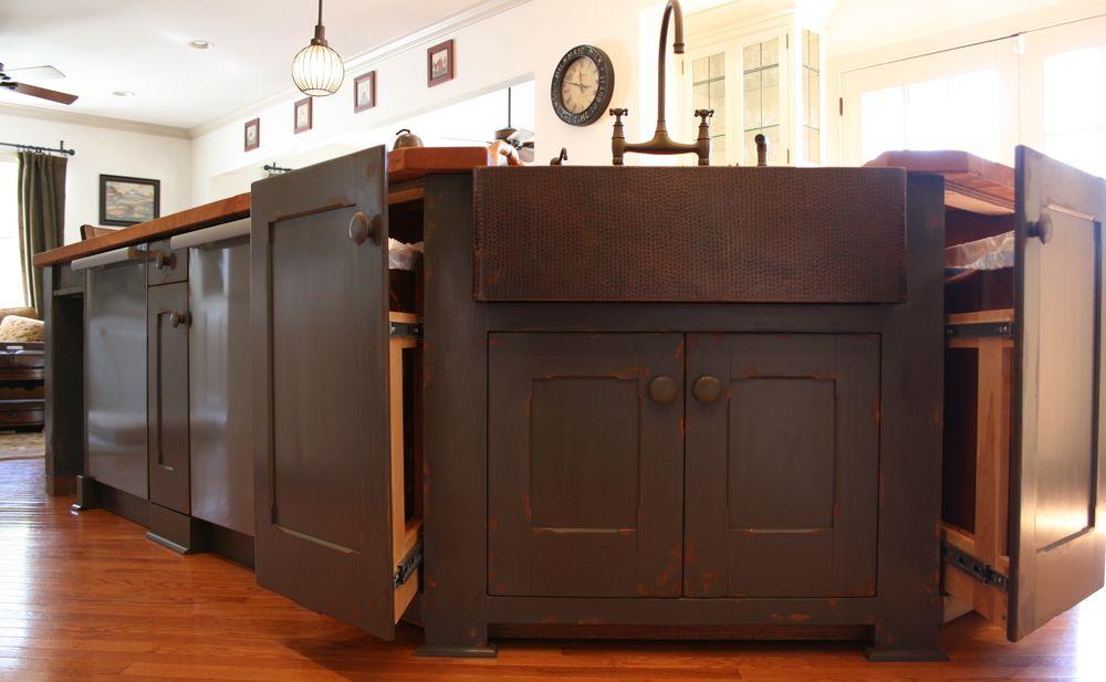Custom painted kitchen bryan