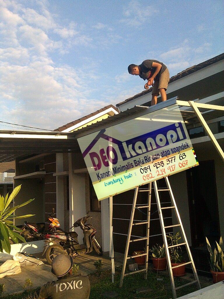 pemasangan baja ringan di bandung jasa kanopi atap spandek