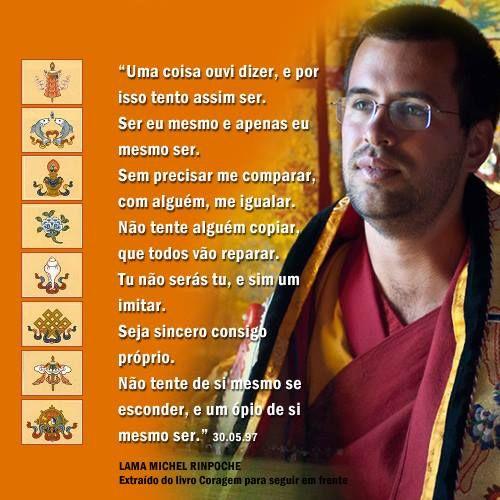 Coragem Para Seguir Em Frente Lama Michel Rinpoche