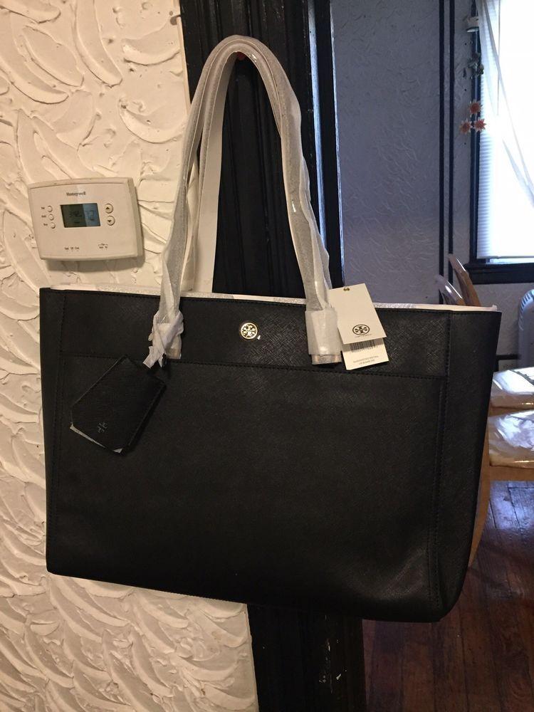 51b2aefbca8a tory burch large black pocketbook  fashion  clothing  shoes  accessories   womensbagshandbags (ebay link)