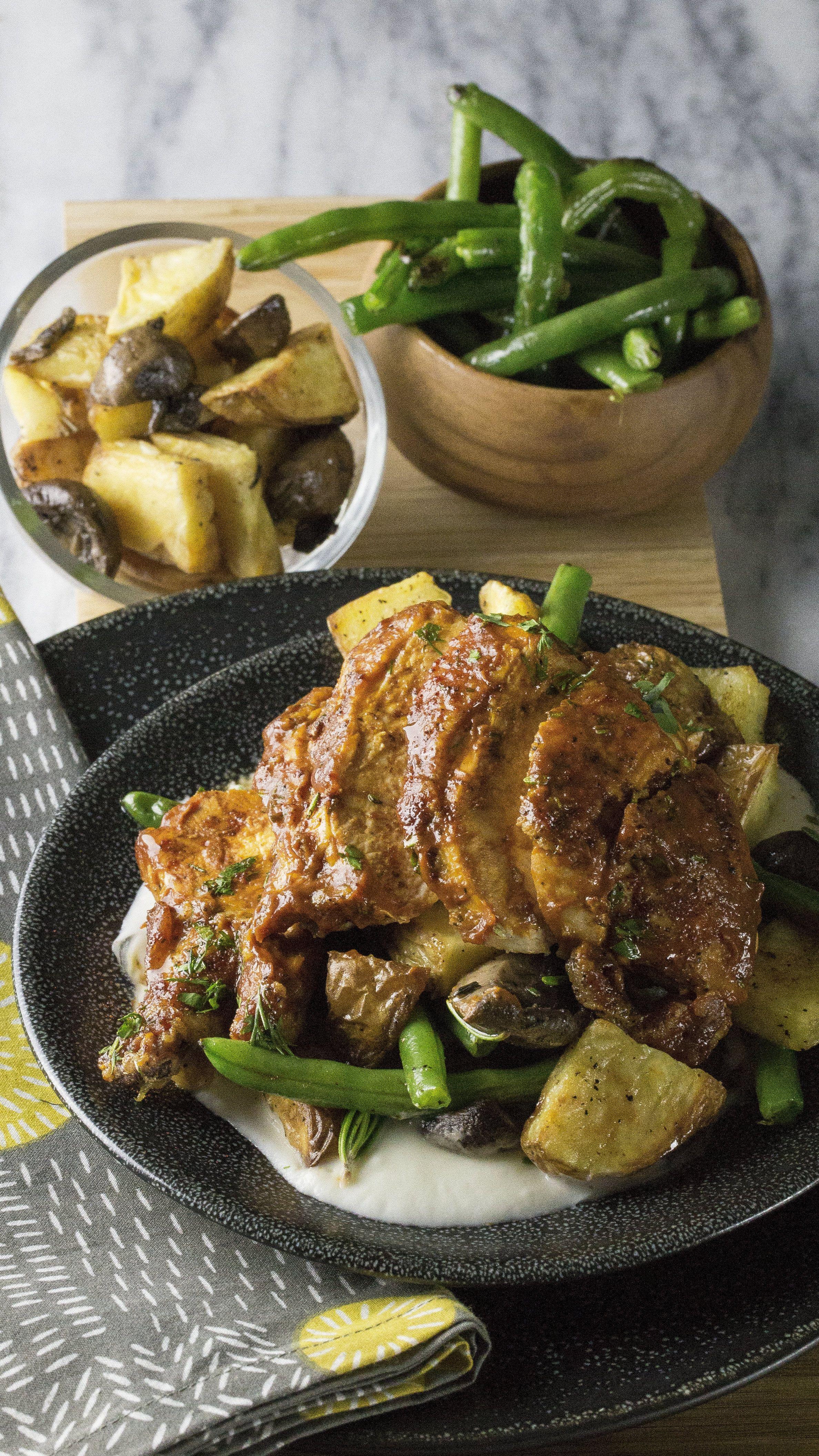 Tennessee BBQ Chicken $12.99 | Free-range airline chicken breast is ...