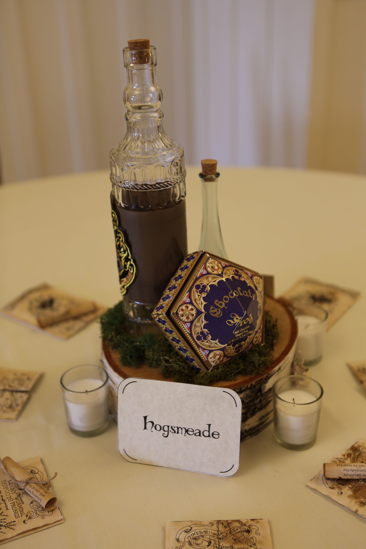 Hogsmeade Harry Potter Table Centerpiece