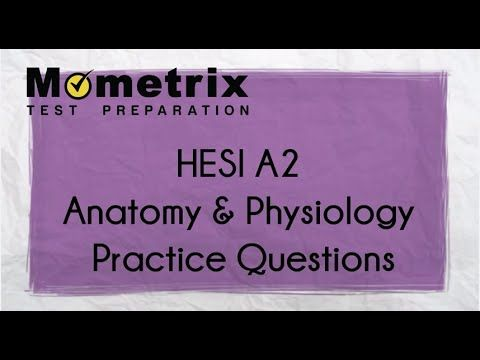 Free HESI Entrance Exam Anatomy & Physiology Practice Questions ...