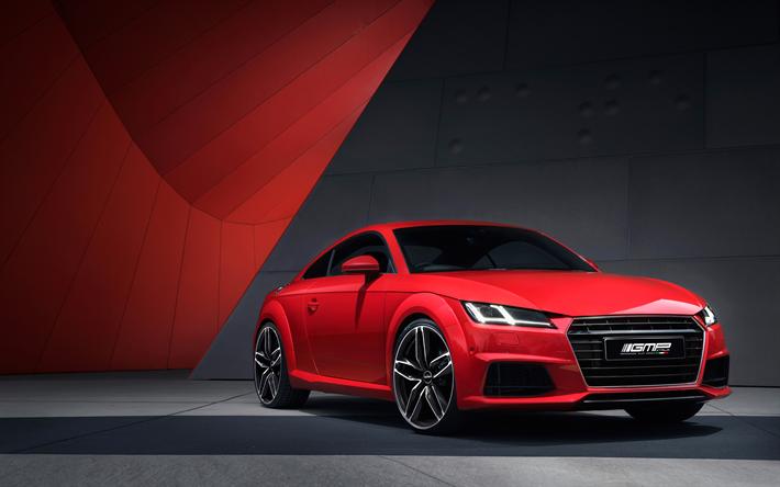 Download Wallpapers GMP Italia Tuning Audi TT Cars Red TT - Audi car video download