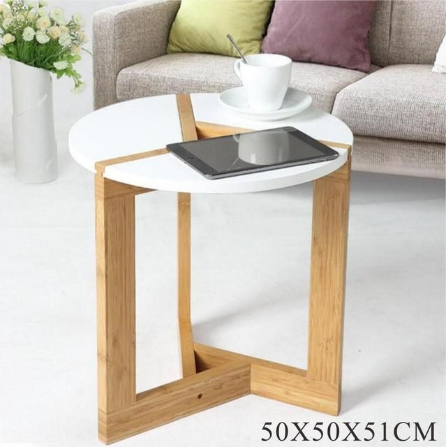 Strange Lanskaya Modern Bamboo Side Living Room Sofa Tea Home Wooden Pabps2019 Chair Design Images Pabps2019Com