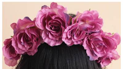 styles Flowers, Transparent flowers, Flower crown