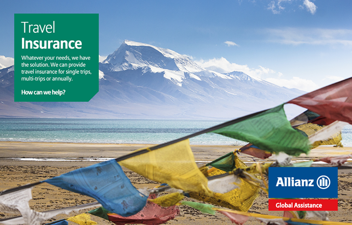 Planning a trip abroad? Make sure you're insured. We can