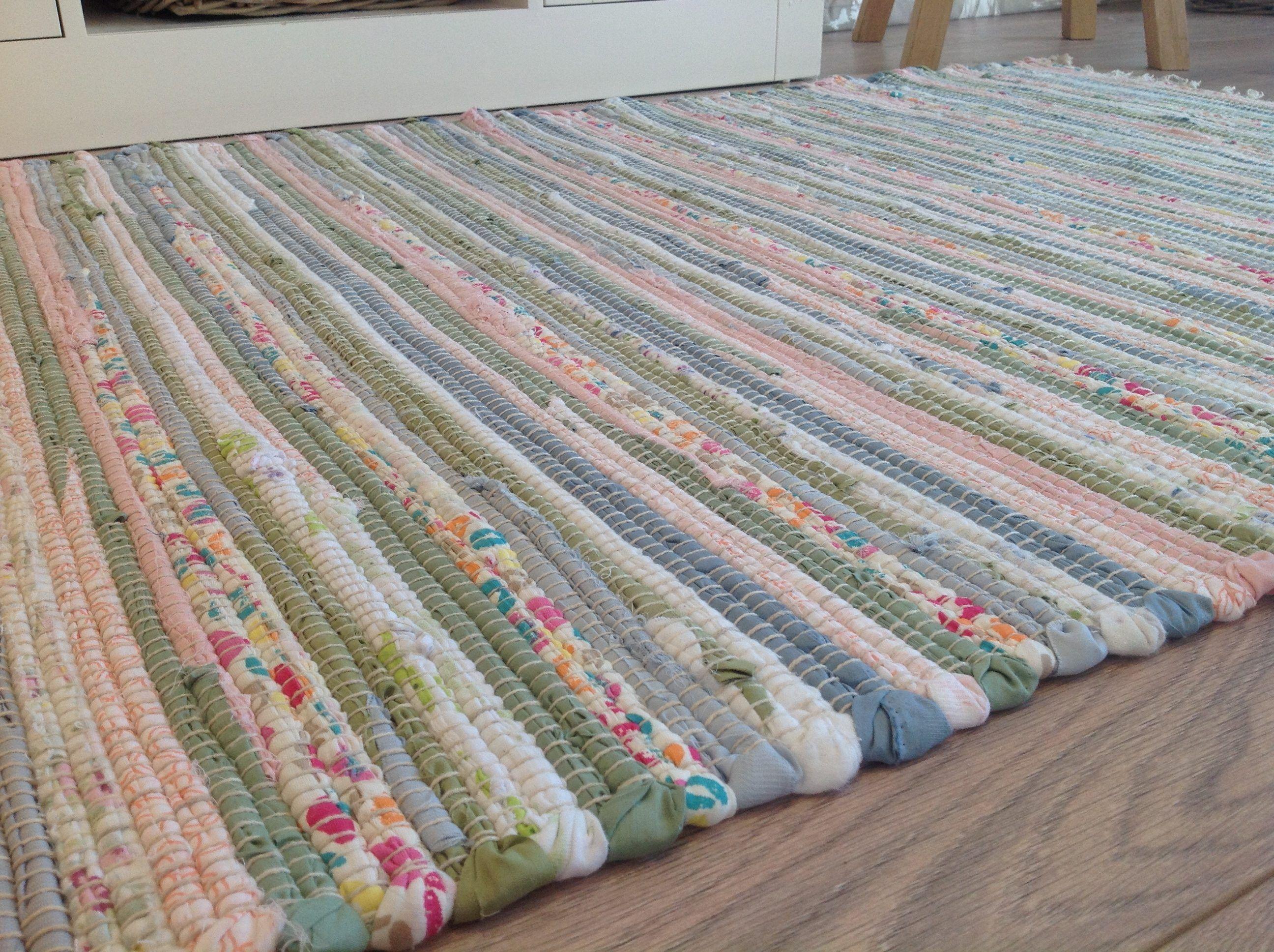 Cotton Rag Rugs Washable Eco Friendly