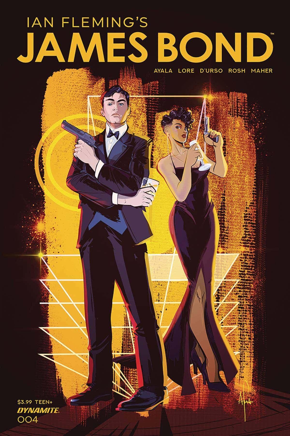James Bond 4 (Cover A Richardson in 2020 James bond