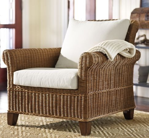 Explore Rattan Armchair, Reading Chairs, And More! Jacquelyne Armchair | Pottery  Barn