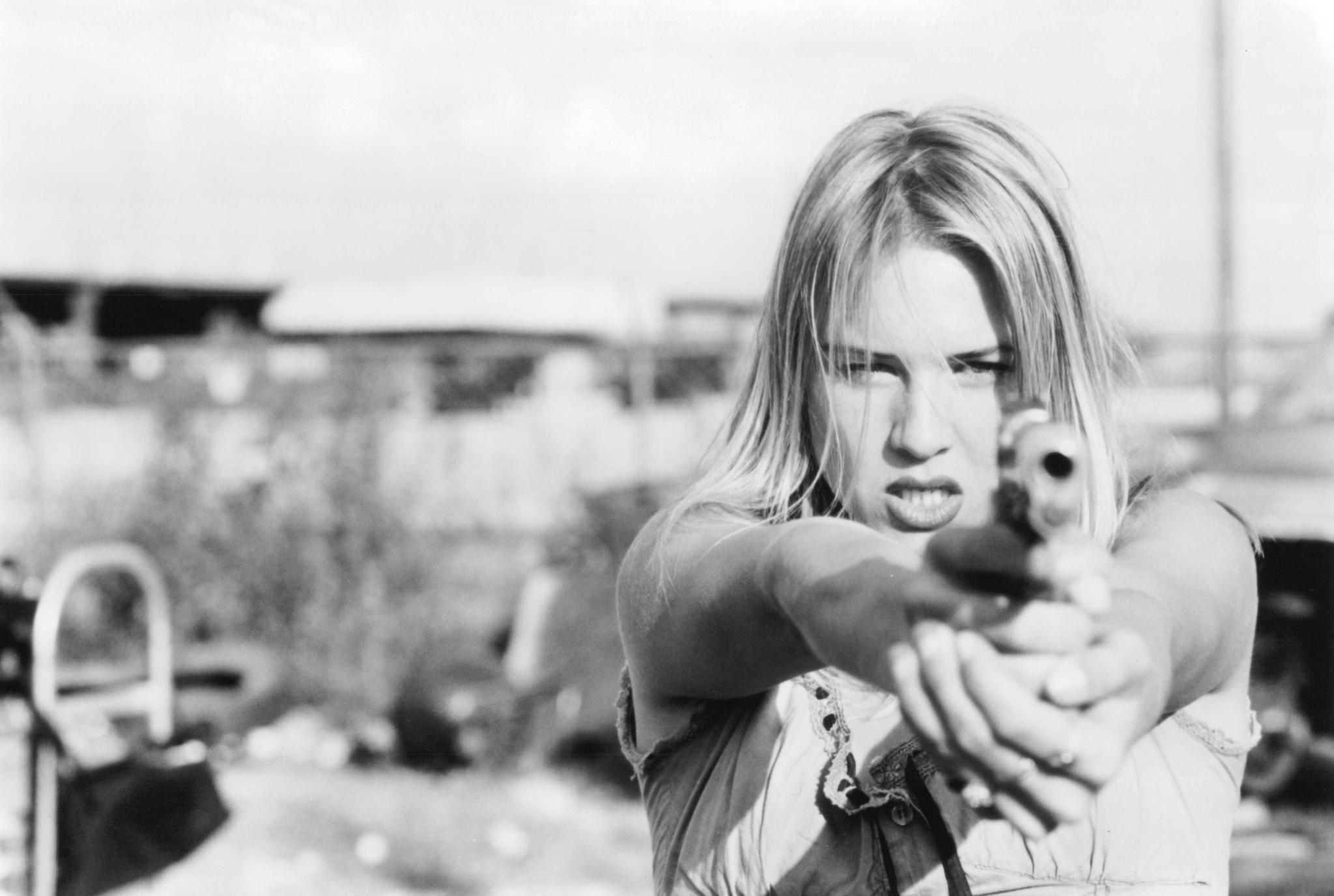 """""""Love And A .45"""" movie still, 1994. Renée Zellweger as"""
