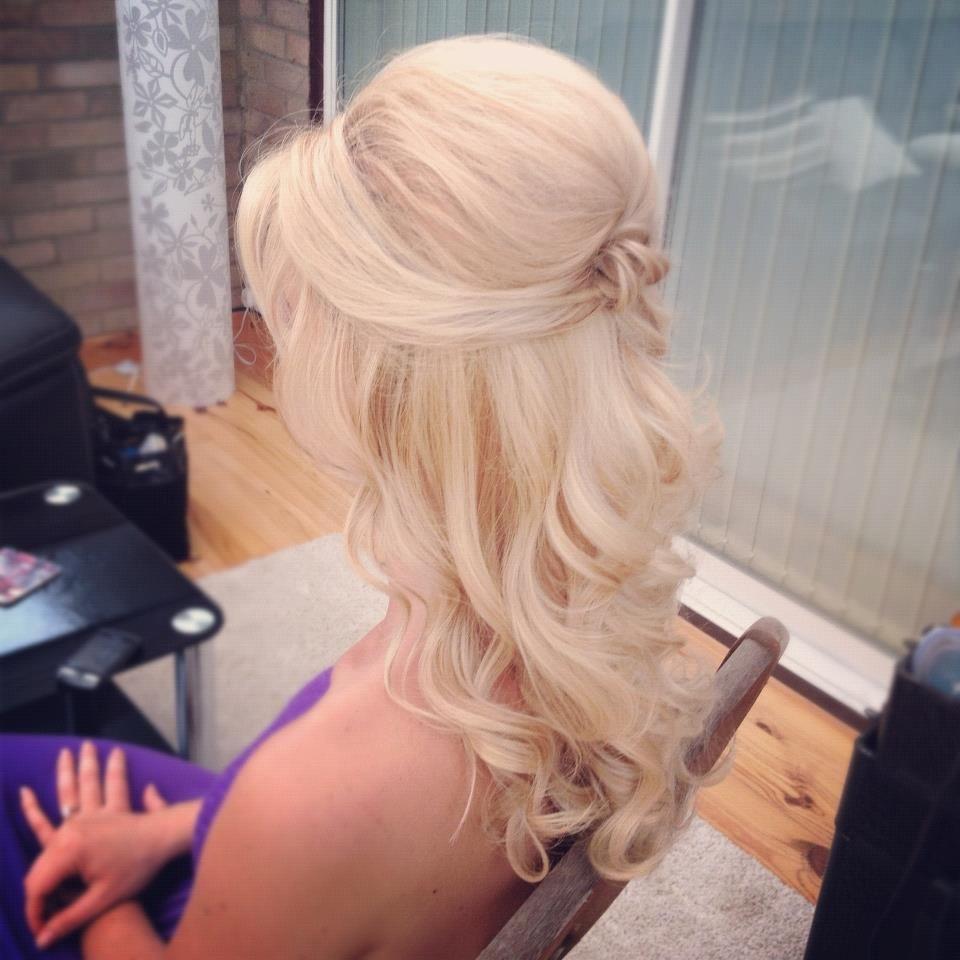 Beautiful loose curls Wedding Hair   Curled wedding hair, Hair ...