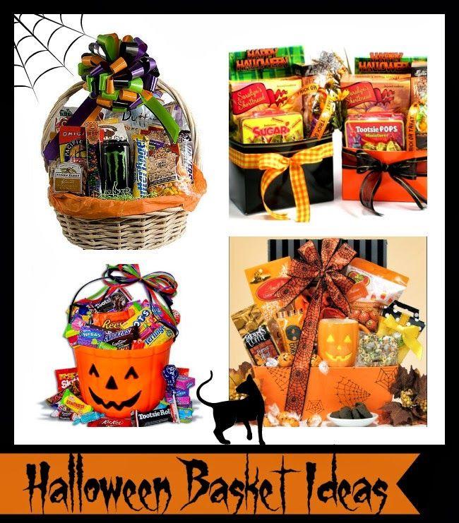 Halloween gift baskets for neighbors