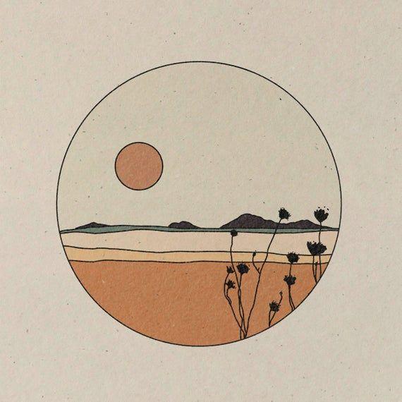 Bloom Wildly || Art Print || Vintage Inspired Art || Inspirational Art || Boho Art Print || Gift Idea