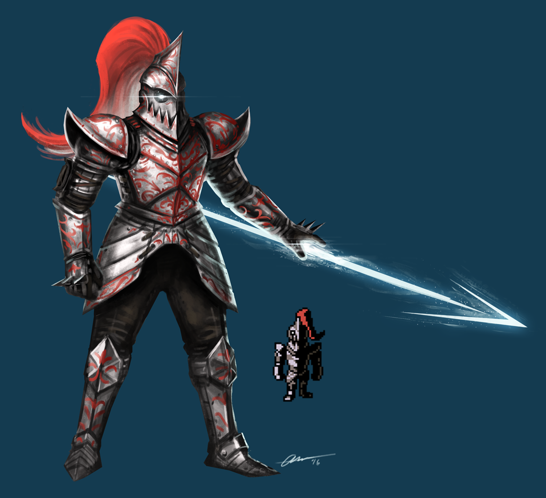 Undyne armadura