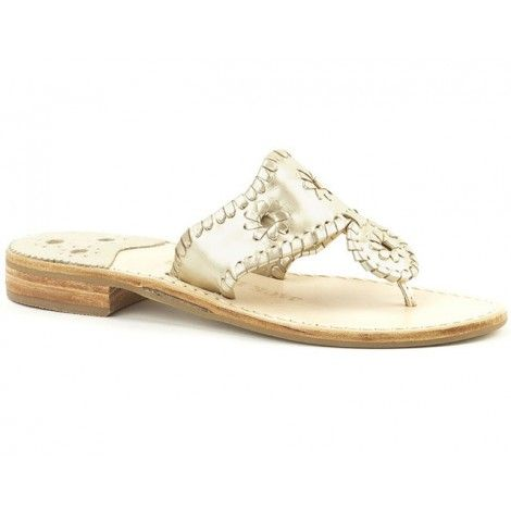 72c53eeeae99 Hamptons Navajo Sandal in Platinum by Jack Rogers
