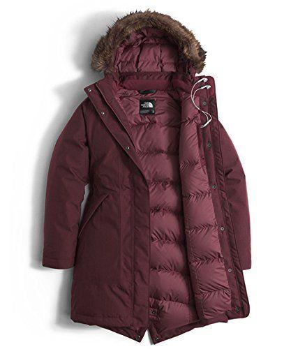 89edf8799 Amazon.com: Women's The North Face Arctic Parka Jacket: Clothing ...