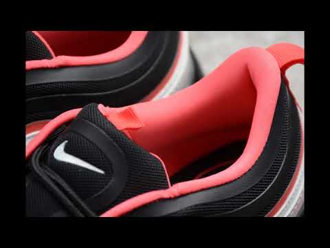 Nike Air Max97 Black And Red Reflective Youtube