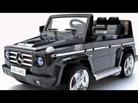 Licensed Black Mercedes Amg G55 Luxury Kids 12v Jeep 279 95