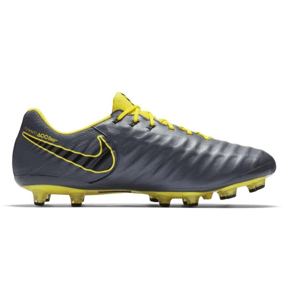 comerciante Paine Gillic símbolo  Football shoes Nike Tiempo Legend 7 Elite Ag Pro M AH7423-070 black grey    Mens football boots, Football shoes, Football boots