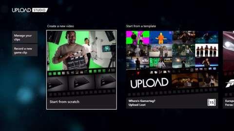 Major Update to Xbox One Upload Studio http