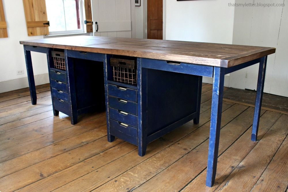 Looking For A Multipurpose Work Table That Also Doubles As Extra