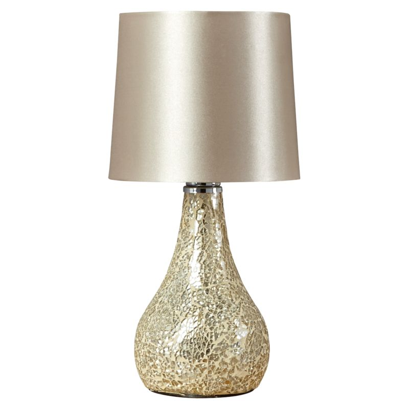 Champagne Mosaic Table Lamp
