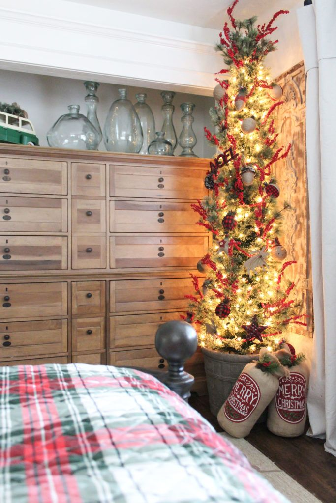 Learn How To Add Some Farmhouse Christmas Charm With Items From Hobby Lobby Inspiration