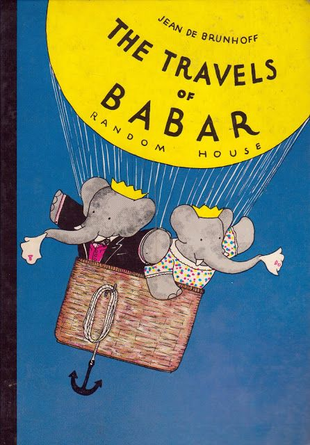 The Travels of Babar The Elephant By Jean De Brunhoff HC