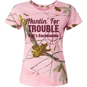 Custom Camo Bachelorette Shirts