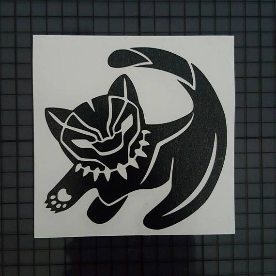 Pin By Ruth Moshier On Meowow In 2020 Black Panther Tattoo