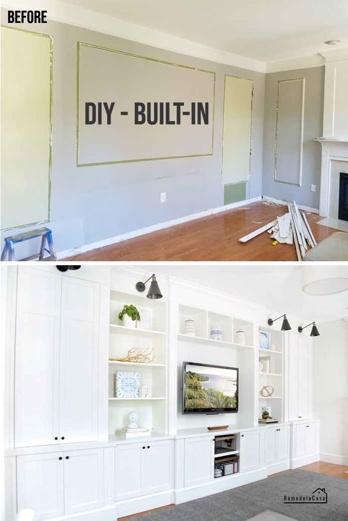 Photo of Built-in family room: the tools that made it easier