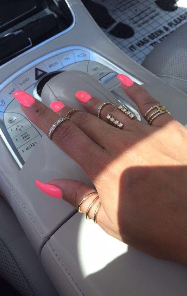 Bright Summer Nails Nandeezy