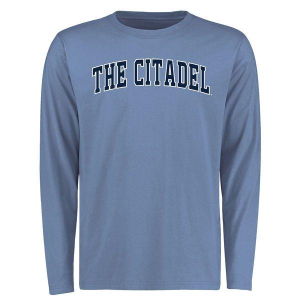 Citadel Bulldogs Everyday Long Sleeve T-Shirt - Light Blue ... a2b2f171f