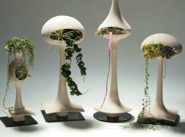 Unusual Pods Ceramic Planters Ideas Planter Pots Indoor Planter Design Succulent Garden Design