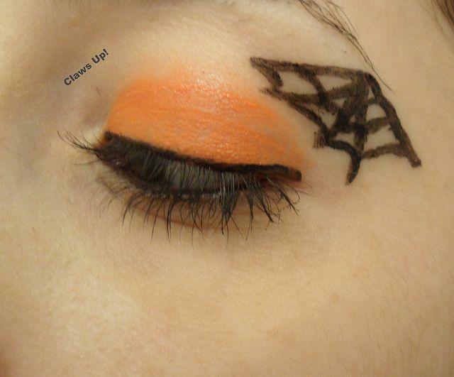 A Halloween makeup look!